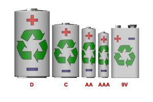 Can you throw away batteries in California